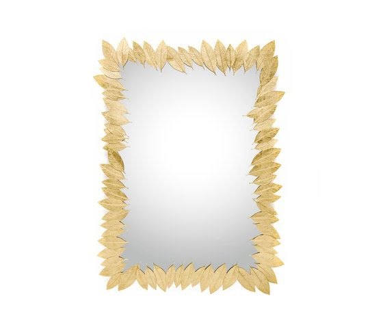 Leaf | Rectangular Mirror by GINGER&JAGGER by GINGER&JAGGER