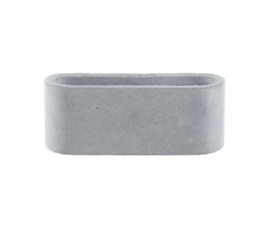 Light, concrete stone grey by Serafini by Serafini