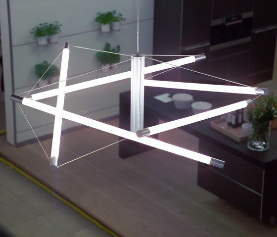 Light Structure T5 pendant by Archxx by Archxx