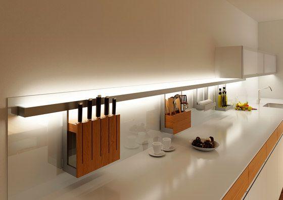 & Lighting system 6 Light railing by GERA by Thomas Ritt for GERA