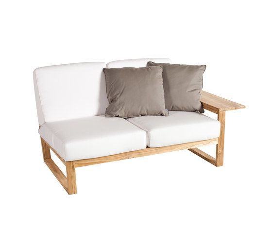 Lineal Module sofa 2 left arm by Point by Point