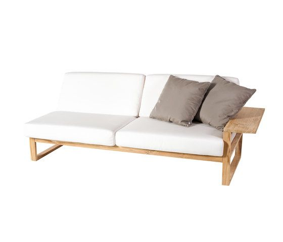 Lineal Module sofa 3 left arm by Point by Point