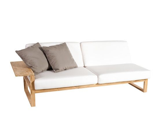 Lineal Module sofa 3 right arm by Point by Point