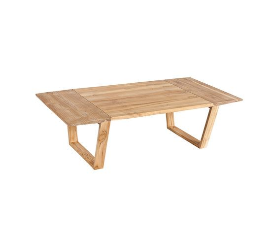 Lineal Rectangular coffee table by Point by Point