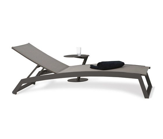 Long Beach Sun lounger aluminium adjustable by Rausch Classics by Rausch Classics