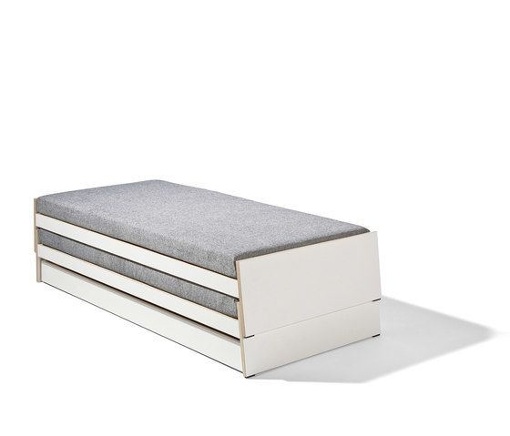 Lönneberga MDF stacking bed by Lampert by Lampert