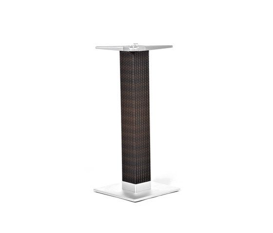 Lotus outdoor table base by Varaschin by Varaschin