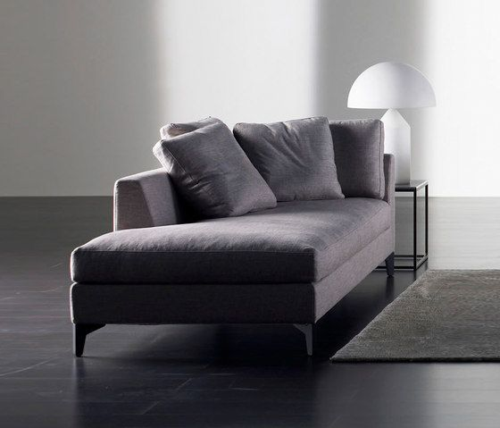Louis Up Chaise Longue By Meridiani By Andrea Parisio For