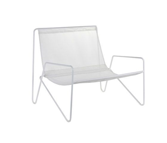 Lounge Armchair frame white/fabric white by Serax by Serax