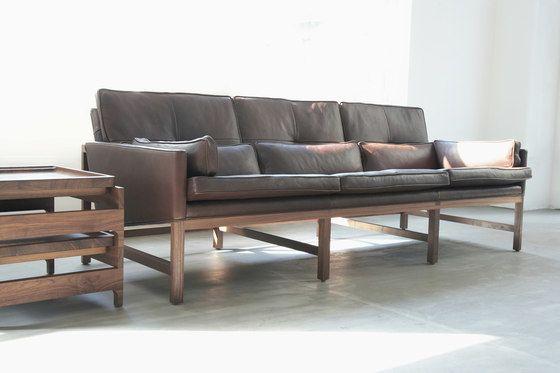 Low Back Sofa by BassamFellows by BassamFellows