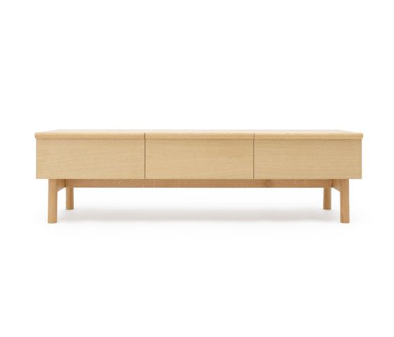 Low sideboard with three drawers by Bautier by Bautier