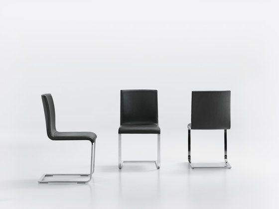 LYNN S Cantilever chair by Girsberger by Girsberger