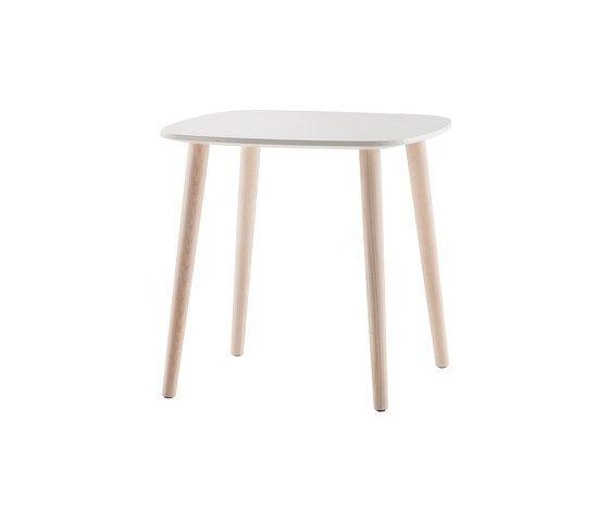 Malmö Coffee Table MLT_50x50x48 by PEDRALI by PEDRALI