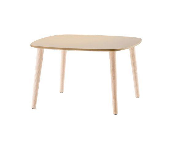 Malmö Coffee Table MLT_60x60x36 by PEDRALI by PEDRALI