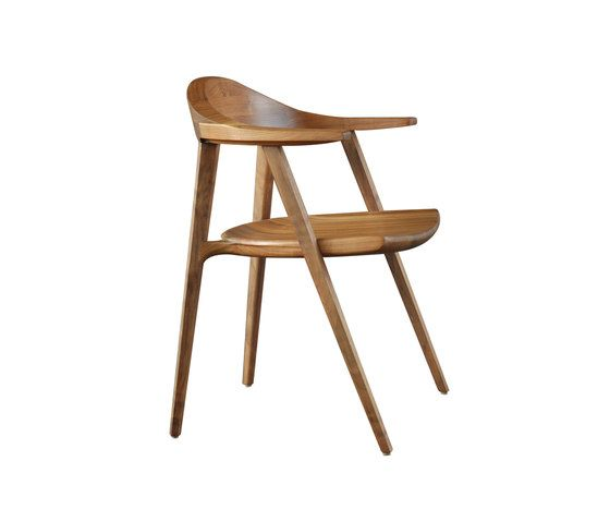 Mantis Side Chair by BassamFellows by BassamFellows