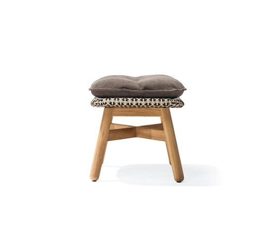 Mbrace Footstool by DEDON by DEDON