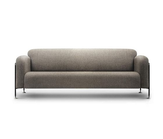 Megasofa  Mega Sofa Stone Grey - Fabric A by Chris Martin for Massproductions