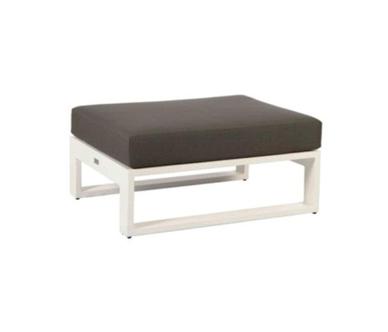 Meridian Small Ottoman by Akula Living by Akula Living