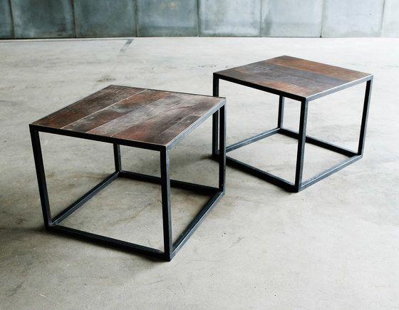 Mesa Leather coffee table by Heerenhuis by Heerenhuis