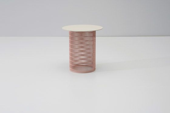 Mesh side table Ø 48 by KETTAL by KETTAL