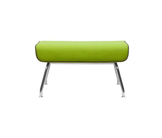 Milo footstool by Softline A/S by Softline A/S