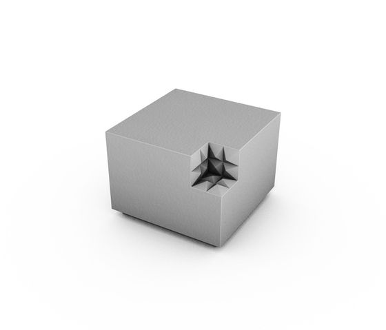 Minimal+ pouf by JSPR by JSPR