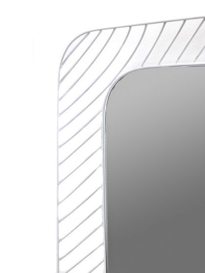 Mirror Rectangle white by Serax by Serax