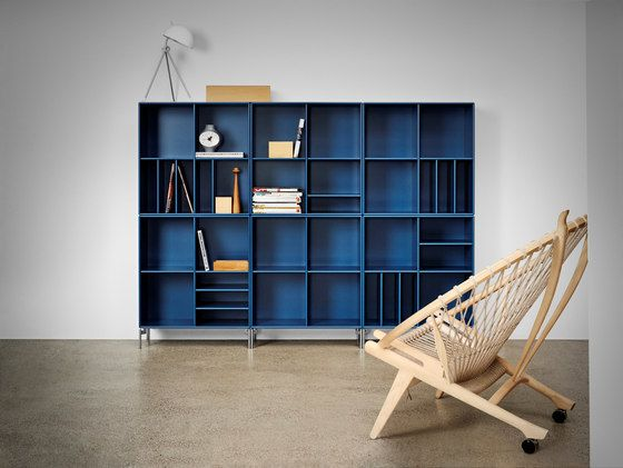 Montana Shelving system   application example by Montana Møbler by Montana Møbler