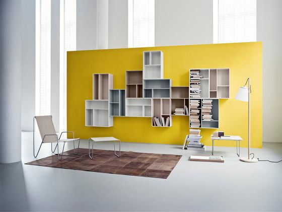 Montana Shelving system | application example by Montana Møbler by Montana Møbler