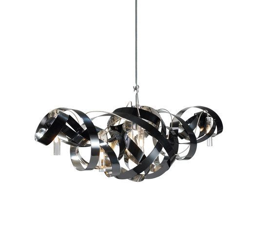 Montone Chandelier triangle by Jacco Maris by Jacco Maris