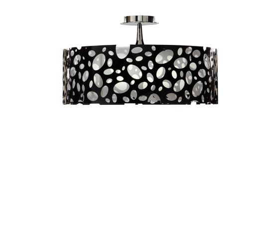 Moon ceiling lamp black by MANTRA by MANTRA