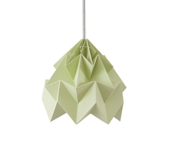 Moth Lamp - Autumn Green by Studio Snowpuppe by Studio Snowpuppe
