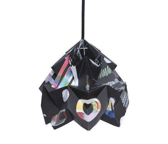 Moth Lamp - Tas-ka Nacht by Studio Snowpuppe by Studio Snowpuppe