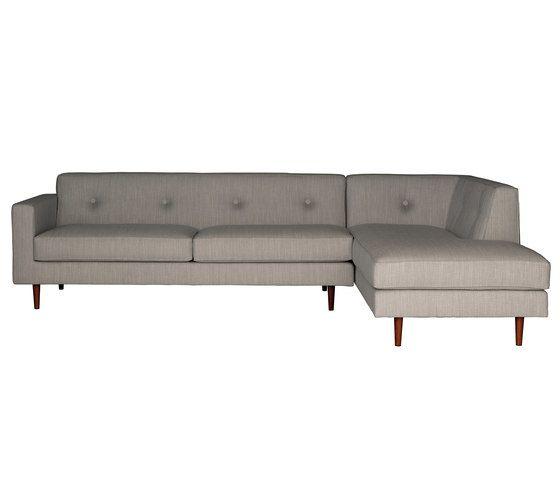 Moulton 3 seat sofa + corner unit by Case Furniture by Case Furniture