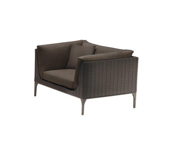 MU Lounge chair by DEDON by DEDON