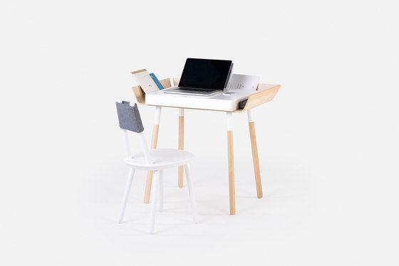 My writing desk small Birch by EMKO by EMKO