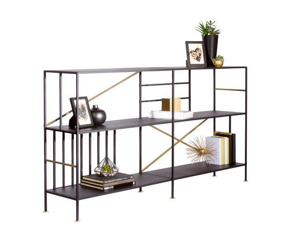 New Prairie Horizontal Bookcase by Sauder Boutique by Sauder Boutique