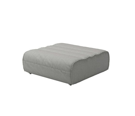 Nomad Ottoman by Gloster Furniture by Gloster Furniture