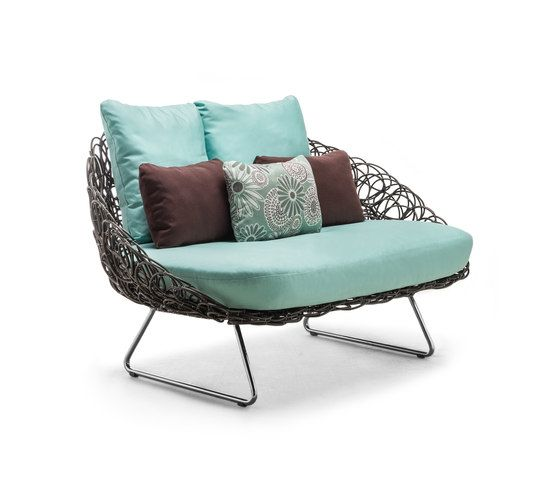 Noodle Loveseat by Kenneth Cobonpue by Kenneth Cobonpue