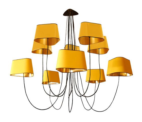 Nuage Chandelier 10 large by designheure by designheure