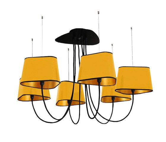 Nuage Chandelier 6 small by designheure by designheure