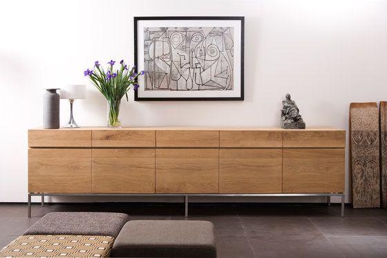 Oak Ligna High Sideboard From Ethnicraft