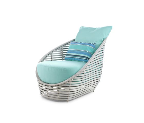 Oasis Lounge Chair by Kenneth Cobonpue by Kenneth Cobonpue
