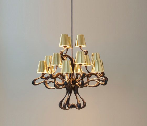 ODE1647 Chandelier by Jacco Maris by Jacco Maris