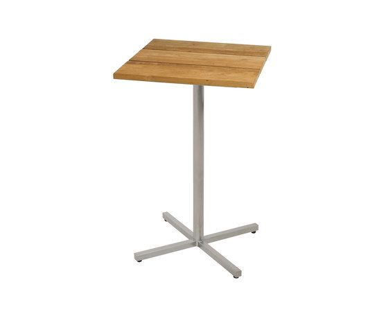 Oko bar table 60x60 cm (Base C - diagonal) by Mamagreen by Mamagreen