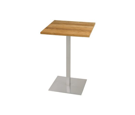 Oko counter table 60x60 cm (Base B - diagonal) by Mamagreen by Mamagreen