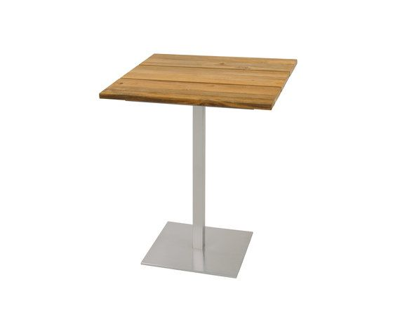 Oko counter table 75x75 cm (Base B - diagonal) by Mamagreen by Mamagreen