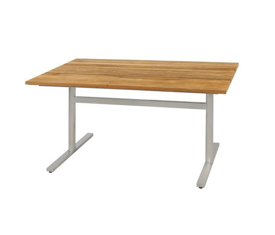 Oko dining table 135x75 cm (Base E - cross) by Mamagreen by Mamagreen