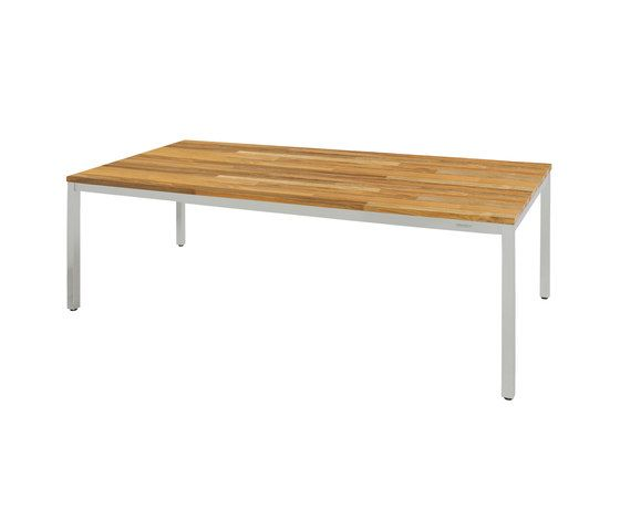 Oko dining table 200 x 90 cm (post legs - random) by Mamagreen by Mamagreen