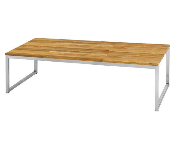 Oko dining table 275x90 cm w/o middle leg (random laminated top) by Mamagreen by Mamagreen